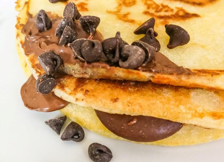 Recette de gros pancakesmoelleux