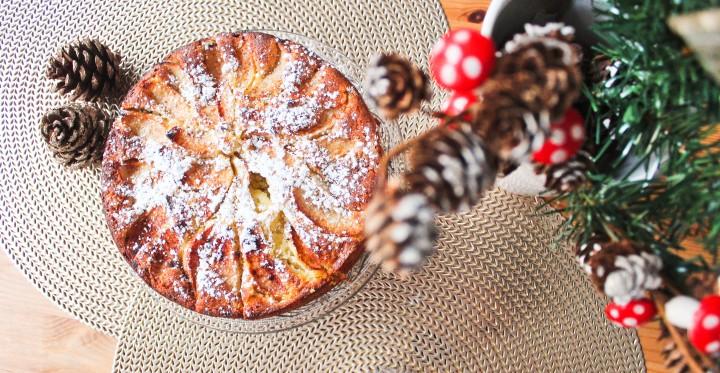 Mon petit gâteau pomme/frangipane : le frangipom' !