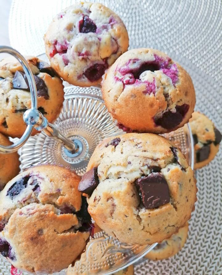 Muffins gourmand et réconfortant au chocolat!